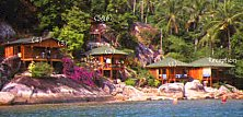 Welcome to Tioman's Bamboo Hill. Click here to book your idyllic room