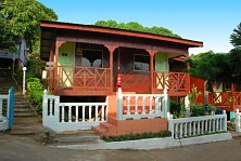 Charming Malay-style cottages at Genting