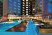 Double Tree Hotel offers plenty of glam