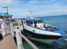 Ferry rearing to make its way to Tioman