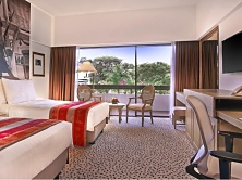 Goodwood Park' rooms are spacious comfortable, as well as easy on the eyes