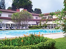 The Goodwood Park Hotel offers swimming fun for young and old