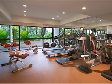 Goodwood Park has a comprehensively equipped gym for all your fitness needs