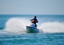 Our generally calm water makes for awesome jetski speed runs