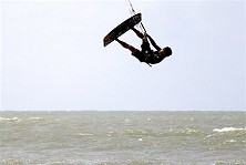 Kitesurfing Malaysia - Up up and away!