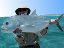 Another Trevally that didn't get away