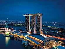 Welcome to Marina Bay Sands Hotel
