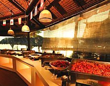 Paya Beach Resort buffet is quite a spread