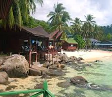 Salang Indah chalets. Sleep to the relaxing sound of the waves