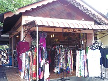 Our souvenir shop in Mersing