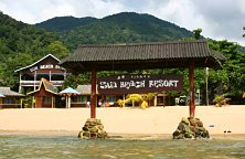 Need a room in Tioman? Sun Beach Resort will do just nicely