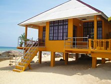 Chalet with a memorable sea view, courtesy of Sun Beach Resort