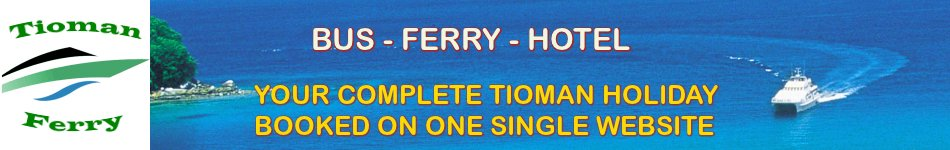 Welcome to Tioman Ferry Tickets, Official Tioman Ferry Tickets Dealer