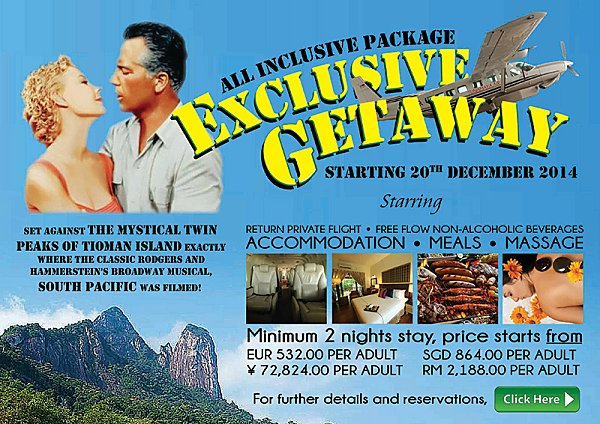 Click here for our Exclusive Getaway Promotion