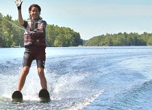 Double waterski ski or mono, both are fun in the sun